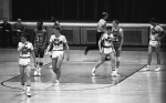 Basketball - J.B. Blocher, Vince Shawver, Ed Dallam and Mike ALt